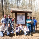 20140308_Scouts_Install_Trailhead_Signs