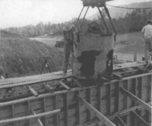 1948 Spillway Construciton
