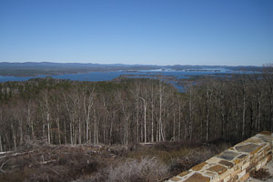 View from Hickory Nut Mountain Vista