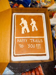 A fantastic cake provided by Brenda Meeks of the Corps of Engineers. (Click the iimage to view more photos.)